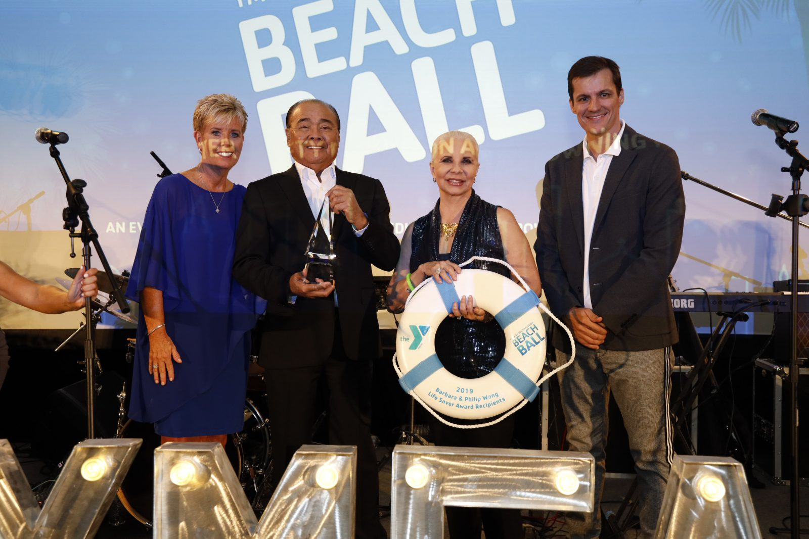 YMCA BEACH BALL BRINGS AWARENESS TO NEED FOR KIDS TO LEARN TO SWIM WITH FAMILY'S NON-FATAL DROWNING STORY -Post Event