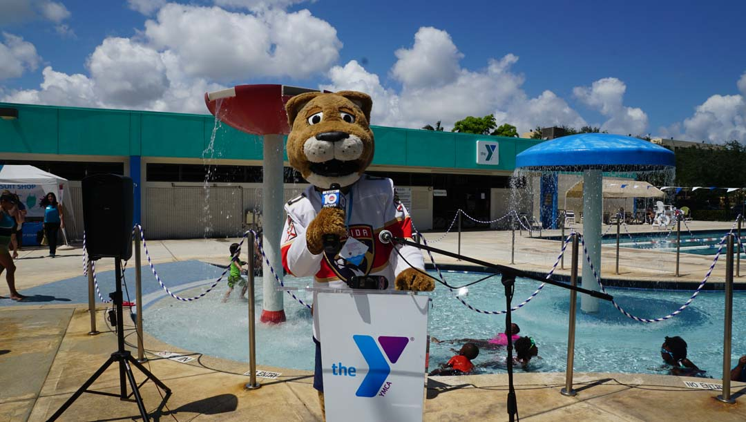 FLORIDA PANTHERS FOUNDATION & YMCA PARTNER TO MAKE KIDS SAFER DURING WATER SAFETY AWARENESS MONTH