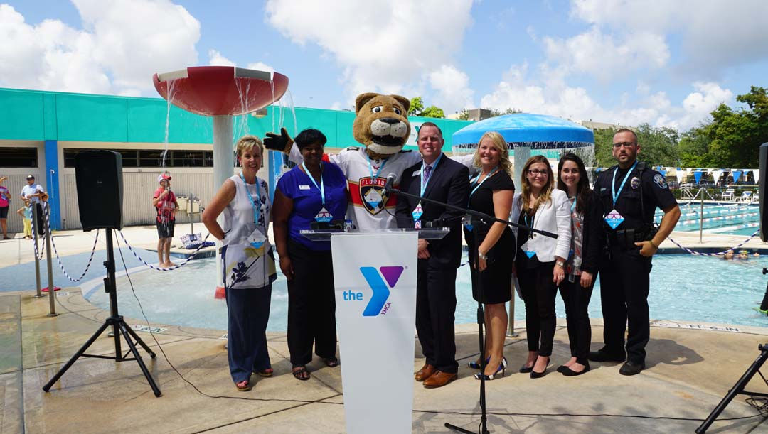 FLORIDA PANTHERS FOUNDATION & YMCA PARTNER TO MAKE KIDS SAFER DURING WATER SAFETY AWARENESS MONTH Press Conference Calls For Safe Memorial Day Holiday Weekend