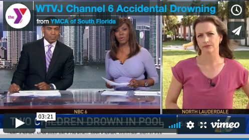 WTVJ Channel 6 Accidental Drowning