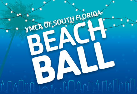YMCA BEACH BALL BRINGS AWARENESS TO NEED FOR KIDS TO LEARN TO SWIM WITH FAMILY'S NON-FATAL DROWNING STORY