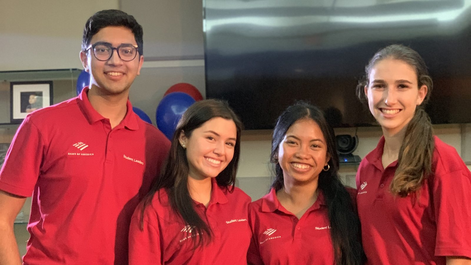 BANK OF AMERICA STUDENT LEADERS DEVELOP SKILLS AT YMCA