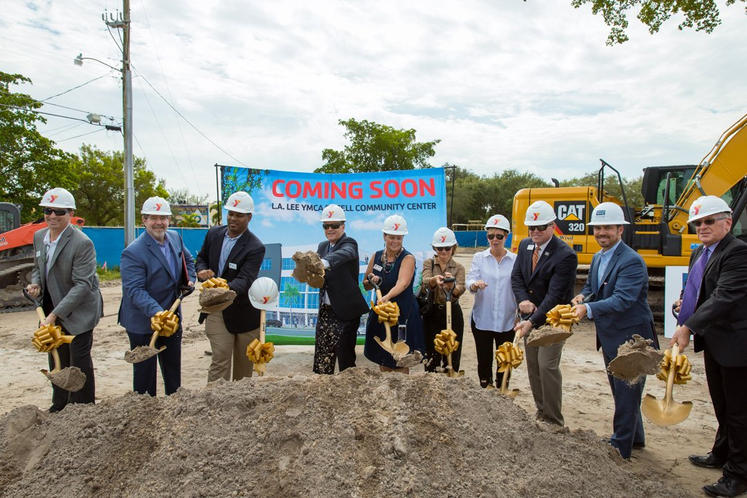 YMCA OF SOUTH FLORIDA BREAKS GROUND ON NEW L.A. LEE YMCA/MIZELL CENTER IN SISTRUNK COMMUNITY -Post Event Press Release