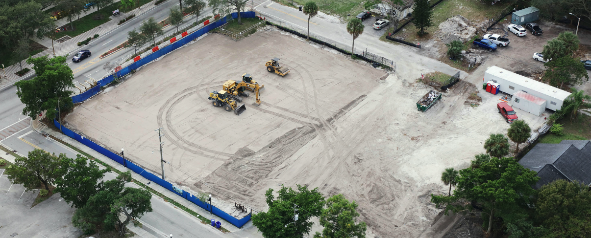 New L.A. Lee YMCA Construction Underway