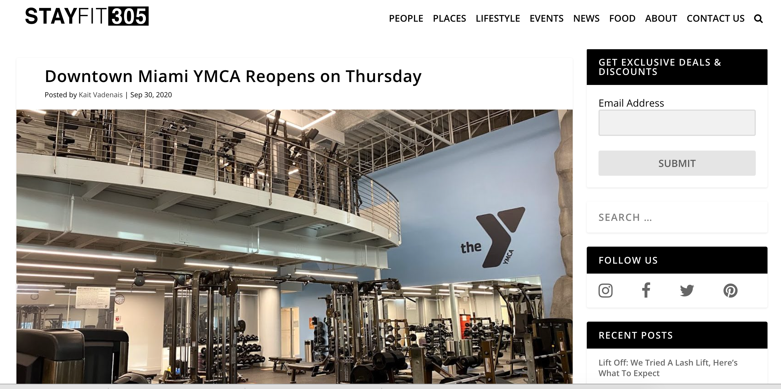 Downtown Miami YMCA Reopens On Thursday