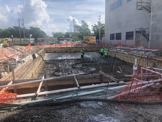Construction Site October 27, 2020